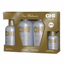 CHI KERATIN KIT pack 4 produits de Farouk Chi Biosilk