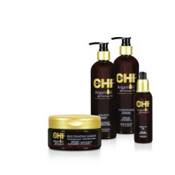 KIT CHI ARGAN OIL PLUS MORINGA OIL DE FAROUK SYSTEMS KIT DE 4 PRODUITS