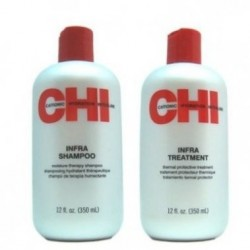 PACK CHI INFRA SHAMPOO + CHI INFRA TREATMENT 355ML FAROUK SYSTEMS