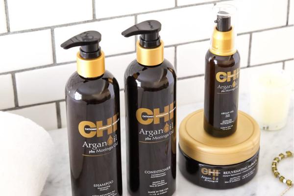 CHI Argan Oil : la ligne luxueuse de Farouk Systems