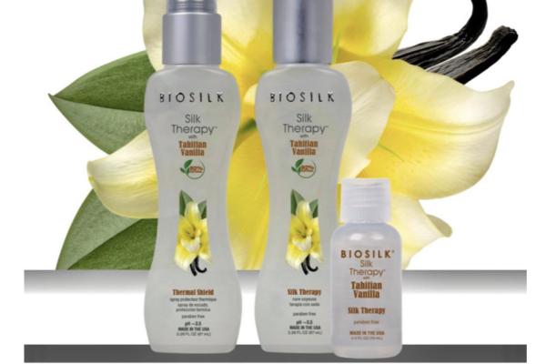 Nouveauté en édition limitée : Silk Therapy Tahitian Vanilla – Protéine de soie